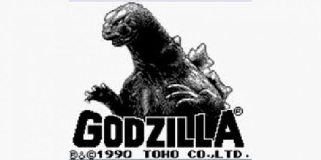 Godzilla GameBoy Game Title Screen